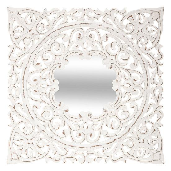 Specchio in MDF intagliato modello Fanny