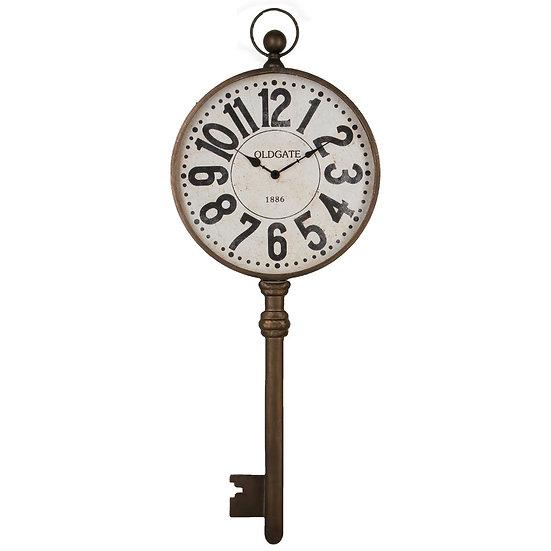 Orologio a forma di chiave in metallo 39,5X100