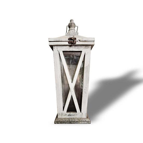 Lanterna in legno e vetro