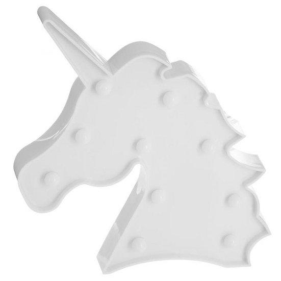 Testa di unicorno con 10 LED in 2 colori