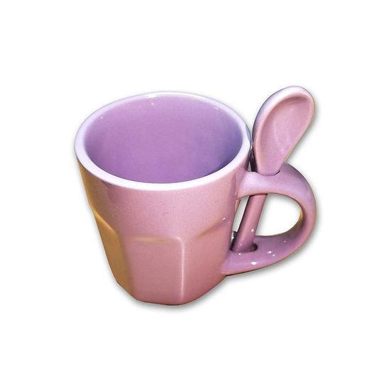 Andrea Bizzotto Tazzina da caffè con cucchiaino in ceramica