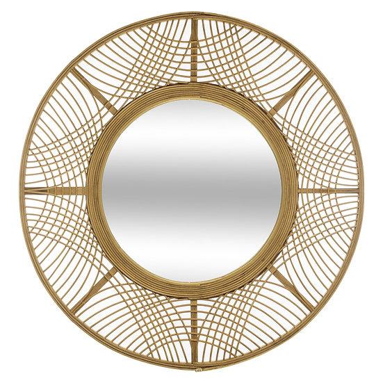 Specchio in bambù modello Ina in 2 misure