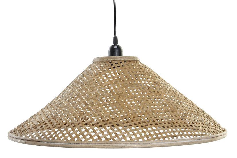 Lampadario da soffitto in rattan colore naturale