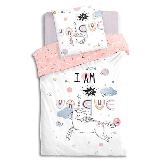 Copriletto per bambini modello Unicorno