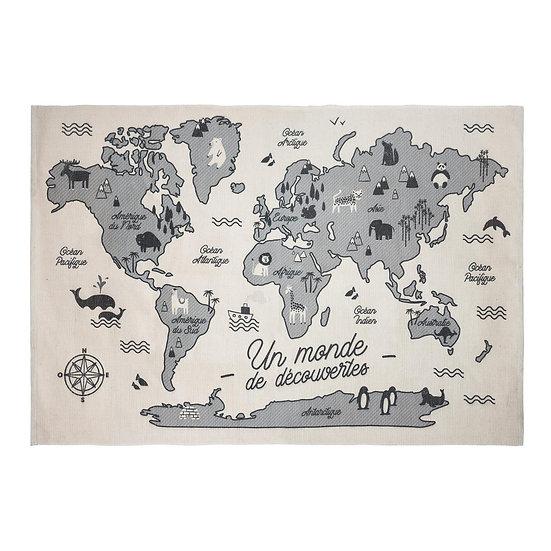 Tappeto cartina geografica
