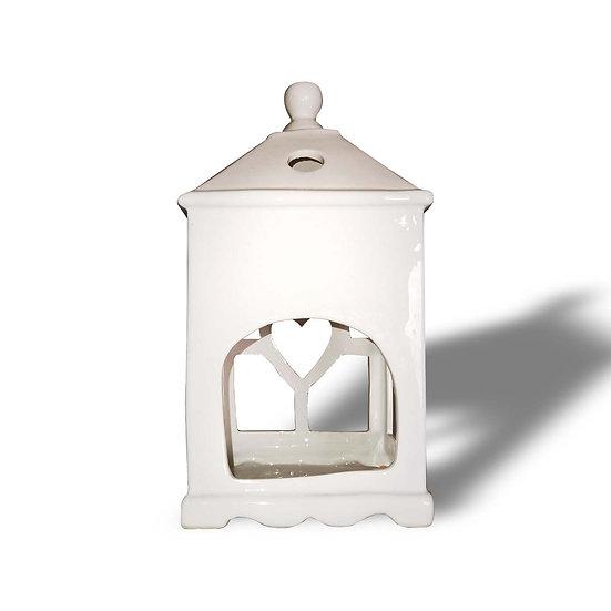 "H&S Decorations Lanterna in ceramica ""Cuor di casa"""