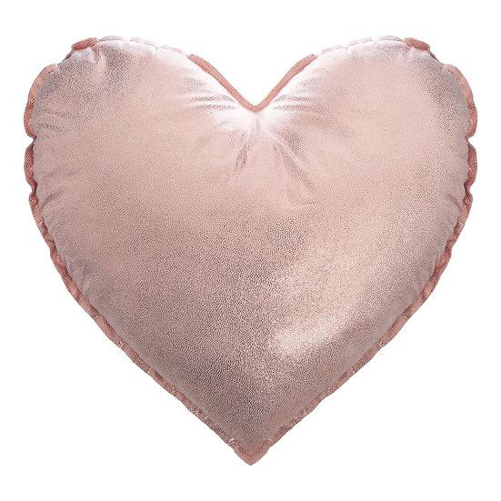 Cuscino a forma di cuore in 2 colori