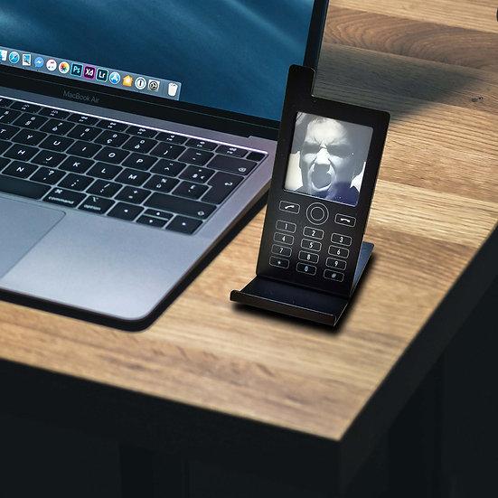 Andrea Bizzotto Portasmartphone con foto in metallo disponibile in 3 colori