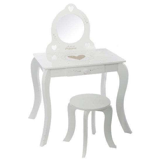 Set Toilette + sgabello in mdf