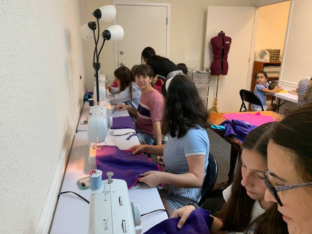 Week 2, The Fashionista Sewing Camp