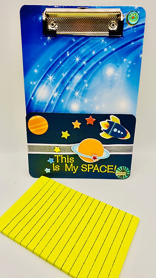 ThisIs My Space Outer Space Mini Clipboard Gift For Boys/Girls