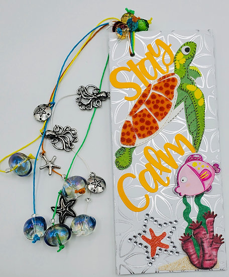 Stay Calm and Relax Aah! Bookmark/Under The Sea Bookmark
