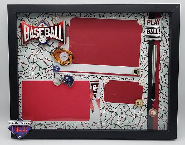 Baseball Lover's Frame Gift/Play Ball