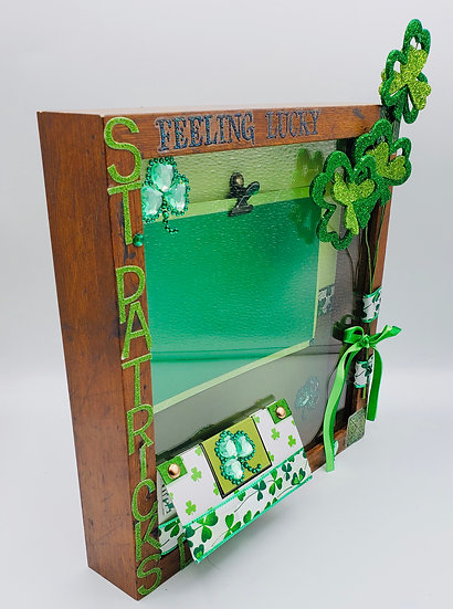 St. Patrick's Day/Happy St. Paddy's Day Scrap Booking Gift Frame Design/Luc