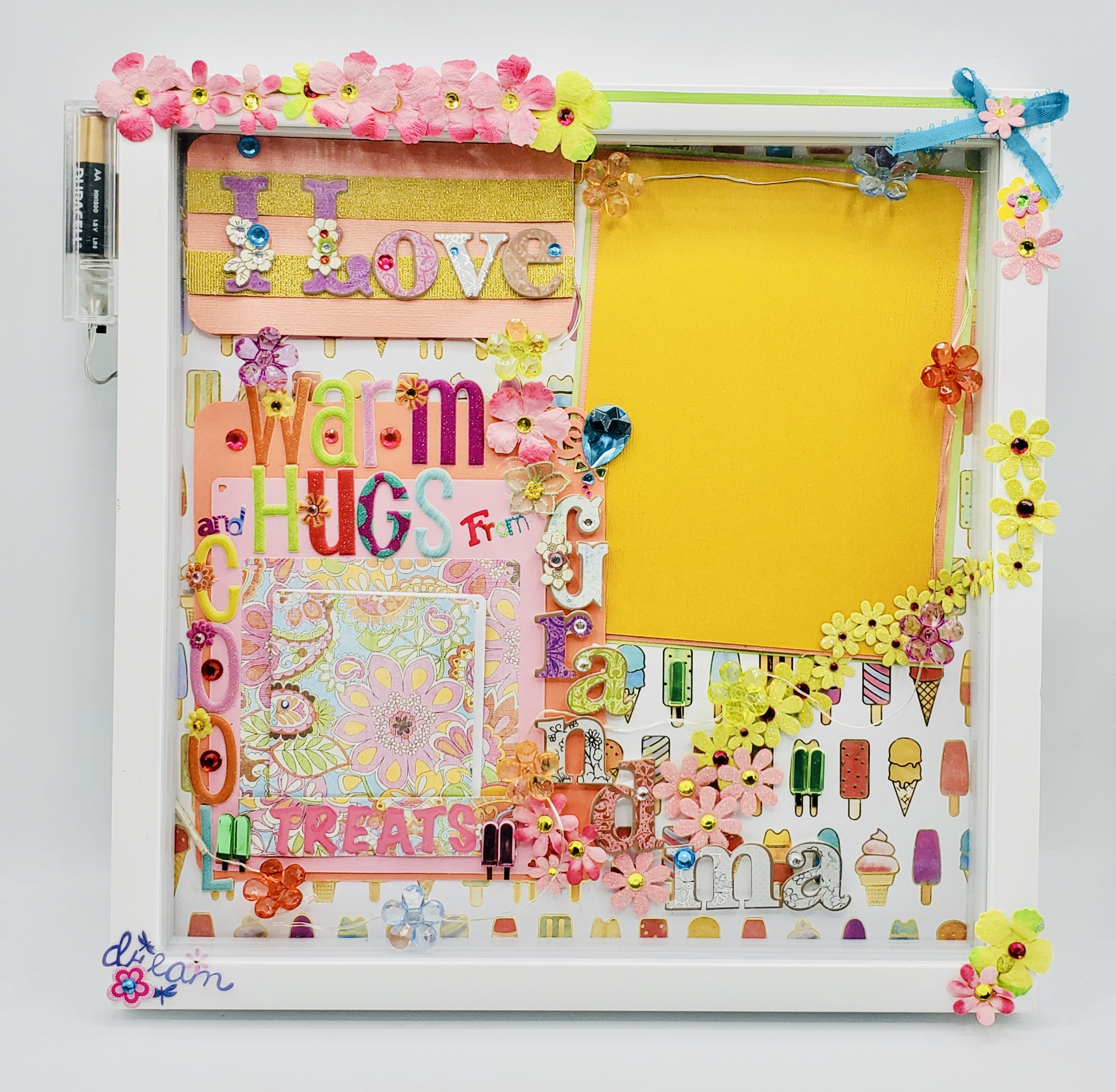 """Grandma"" The Lofty Dragonfly Designed Frames, Shadow Boxes & Display Cases"