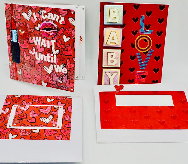 2 Love Cards: I Can't Wait Until We French Kiss/Baby Love, My Baby Love, I Need