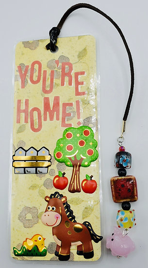 You're Home! WelcomeTo The Funny Farm! Bookmark Gift/Farm Animals Bookmark Gift