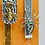 Thumbnail: 2 Elastic Band Bookmarks: Queen Bee & Silver Spider Glittered