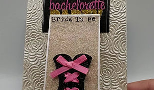 "Bachelorette Party ""Waterfall Design"""