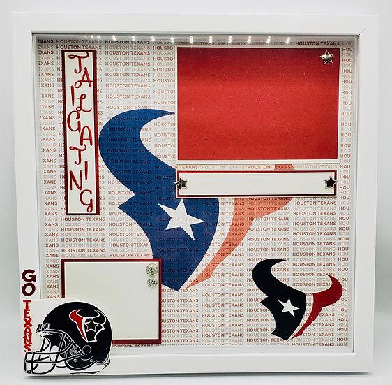 Houston Texans Football/Texans Football Tailgating Red/White/Blue Texans