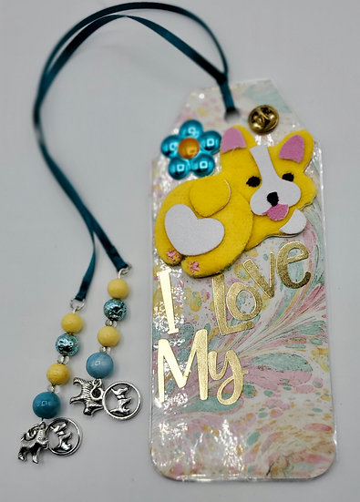 1 Corgi Bookmark/Dog Lover Bookmark