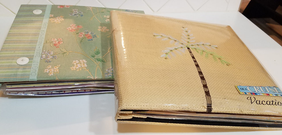 12X12 Customized Scrapbook Package