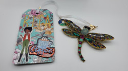 Lofty Dragonfly Scrapbooking Design