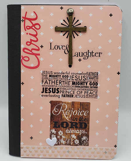 1 Christ Love and Laughter Notepad