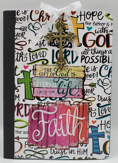 1 The Gift of God Is Eternal Life Notepad/Faith Notepad