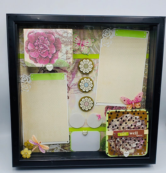 Friend or Sister or Family Scrapbooking Gift Frame Design