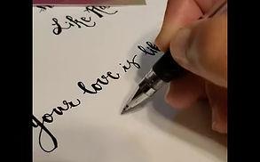 How I Do Hand Lettering