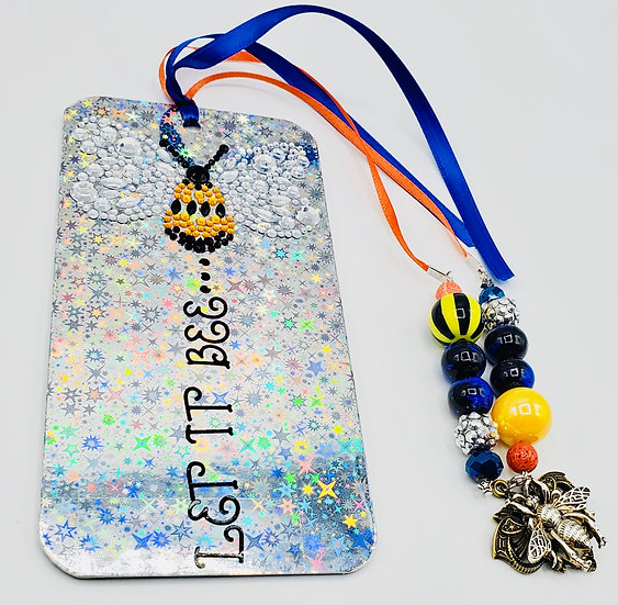 Let It Bee Shine On Until Tomorrow Lyrics from The Beatles Song Bookmark Gift