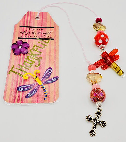 Thankful God Is Our Refuge & Strength Bookmark Gift
