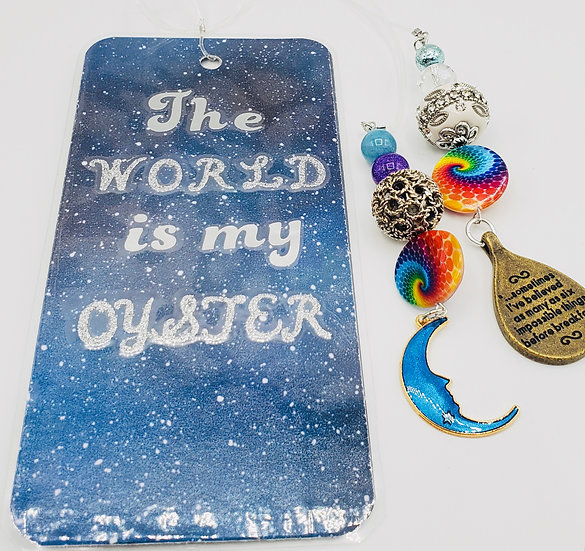 The World Is My Oyster/Imagination Of Youth, Better View Of The World Bookmark
