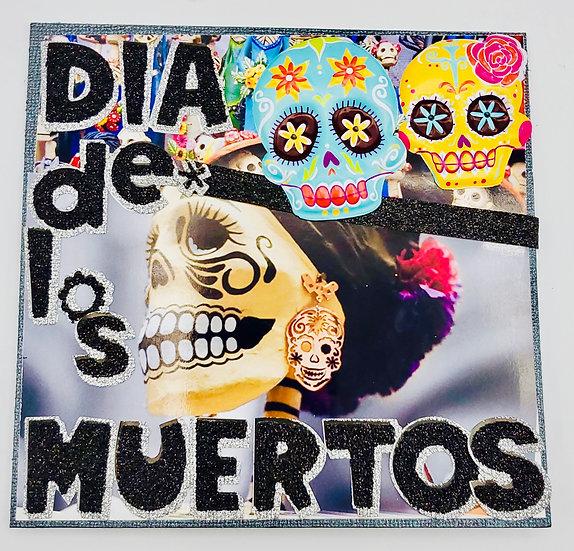 Dia de los Muertos (Day of the Dead) Greeting Card