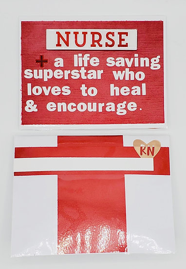 Nurse A Life Saving Superstar Who Loves To Heal & Encourage Greeting Card