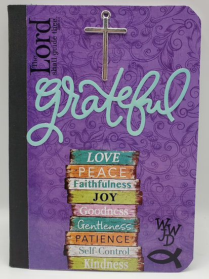 1 Grateful Notepad/Love Peace Faithfulness Notepad