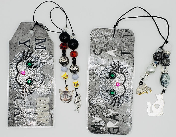 My Gray Cat Bookmarks/A Rainy Day Bookmarks/Oh, These Glorious Gray Days Gifts