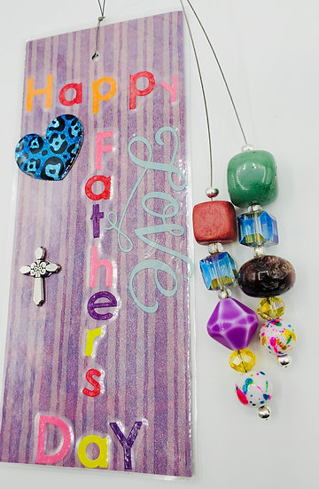 Happy Father's Day Bookmark Gift/Daddy, Papa and Father Bookmark Gift