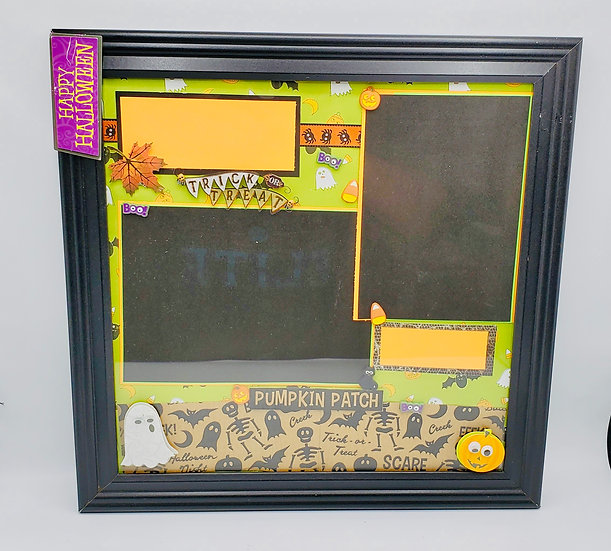 Trick or Treat!/Pumpkin Patch/Happy Halloween Framed Gift