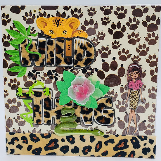 Wild Thing We're Gonna Party BC (Because) It's Your Birthday! Greeting Card