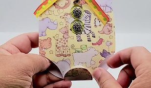 Onesie-Shaped Baby Shower Card