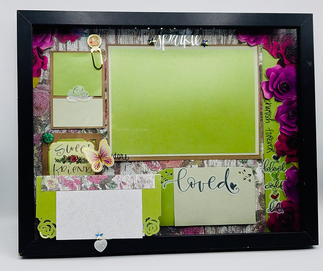Sweet Friend - Loved She Believed She Could So She Did Framed Gift