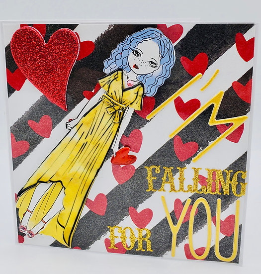 I'm Falling For You  I Wanna Tell You That Sometimes I Think Of You & Smile Card