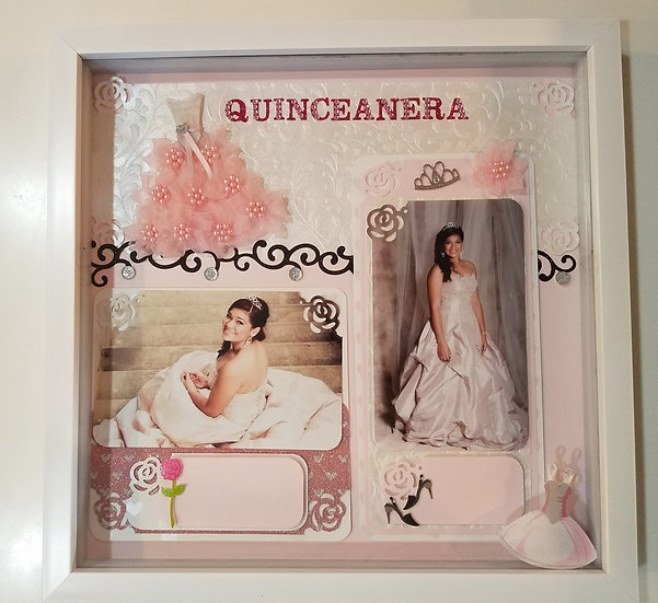 The Fiesta de Quince Anos, Quince, Quinceanera - Pink Flowers
