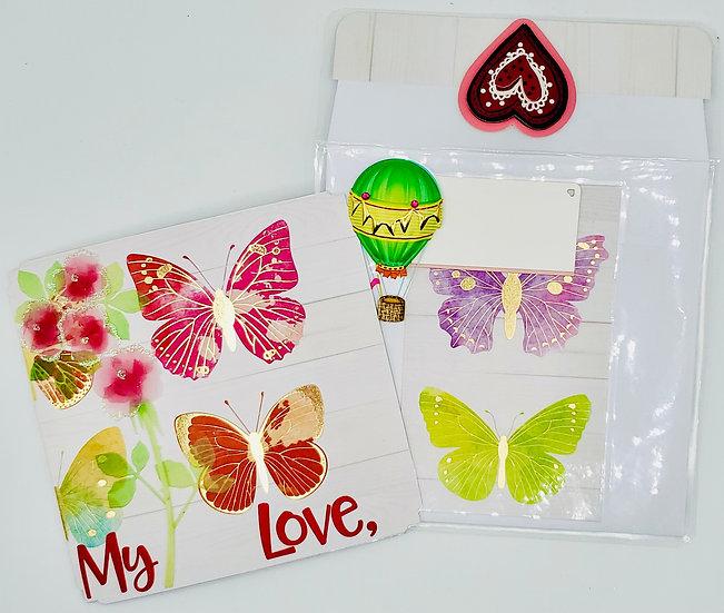 My Love, I Still Get Butterflies Even Though I've Seen You A Thousand Times Card