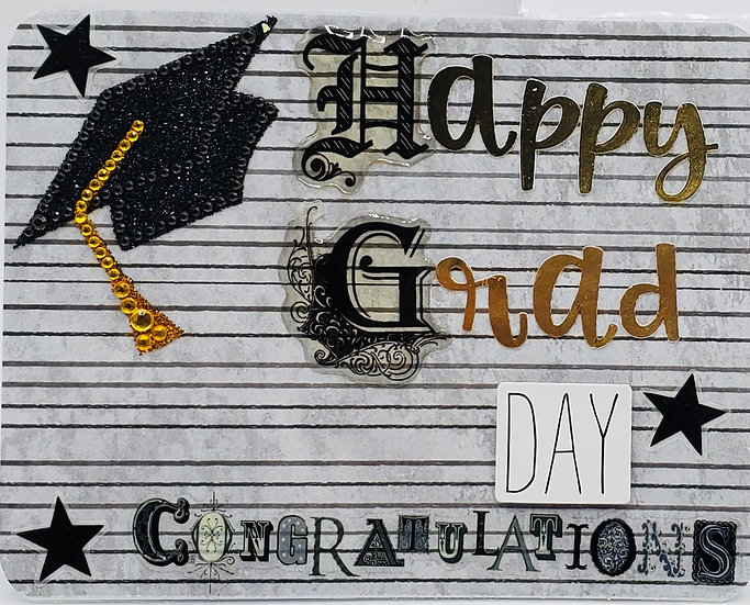 Happy Grad Day! Congratulations Graduate! Greeting Card/We're Gonna Party Card
