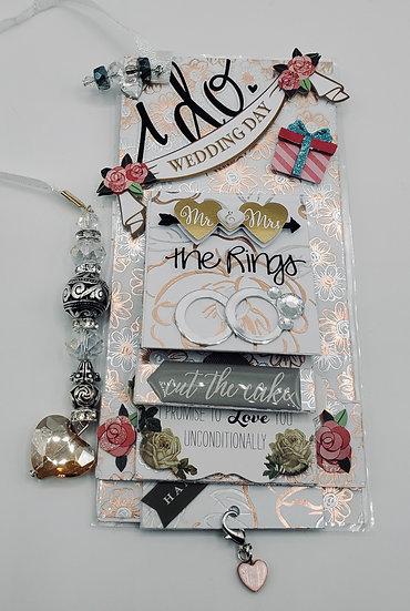I Do Wedding Day Mr.& Mrs. Congratulations Bride/Groom Wedding Bookmark Gift
