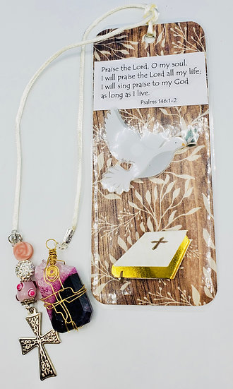 The Gift Of The Lord Is Eternal Life. Hope Christian Bookmark Gift