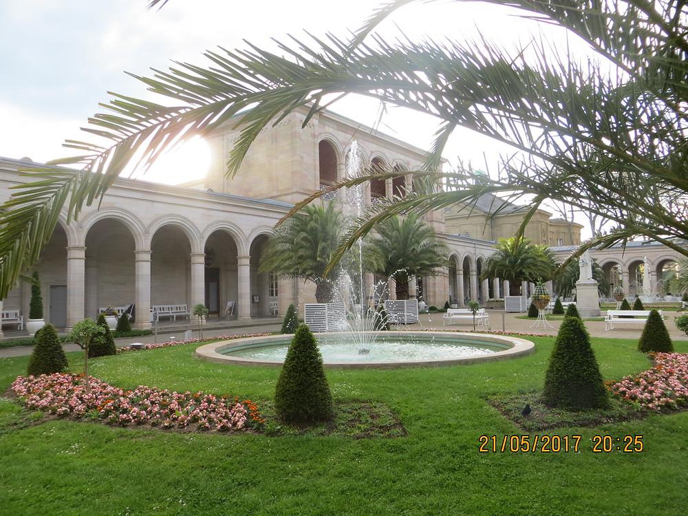 центральная площадь курортного комплекса